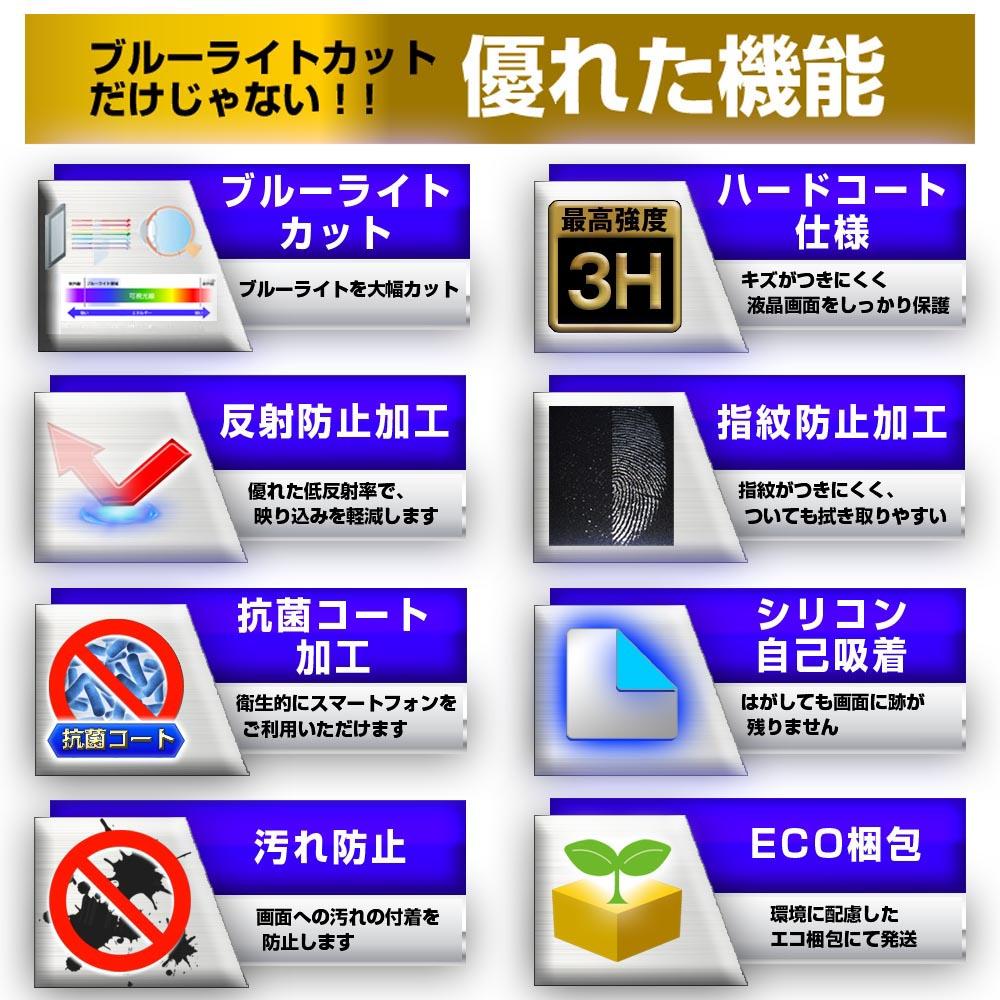 ニンテンドー3DS LL専用 ブルーライトカット 反射防止 液晶保護フィルム 指紋防止 気泡レス加工 液晶フィルム メール便なら