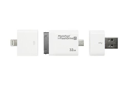 i-Flash Drive HD GEN2 32GB (Lightningアダプター付属) USBメモリー Android PC iPo...