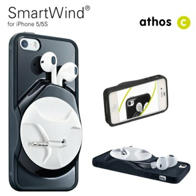 【athos-c】SmartWind Black iPhone5/5s