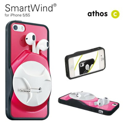 【athos-c】SmartWind Pink iPhone5/5s