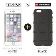 FieldCaseiPhone6Black×SCREENPROTECTORWhite
