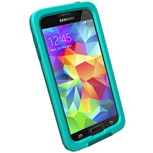 fre for Galaxy S5 Teal 防水・防塵・耐衝撃 ライフプルーフ ケース