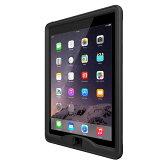 【送料無料】LIFEPROOF nuud for iPad Air 2 : Black ケース 防水 防塵 耐衝撃 ライフプルーフ ip68《 iPad アイパッド エア2 防水ケース 完全防水 衝撃吸収 ipx8 アウトドア 安心補償 》