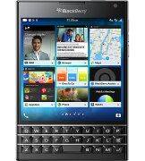 BlackBerryPassportBlackSIM�ե꡼�֥�å��٥꡼32GB