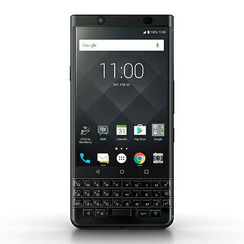 「BlackBerry」KEYone Black Edition Android 64GB  SIMフリースマートフォン ブラックベリー