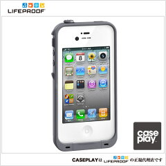 iPad/iPhoneケースアクセサリー【CASEPLAY】ケースプレイ【LIFEPROOF】iPhone4/4S LifeProof Ca...