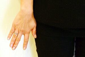 K10WG/PG/YG(ホワイト、ピンク、イエローゴールド)ダイヤモンドリング/ピンキーリング/スリーライン/クラッシック/ハーフエタニティー/K18/pt900別作可【_包装】