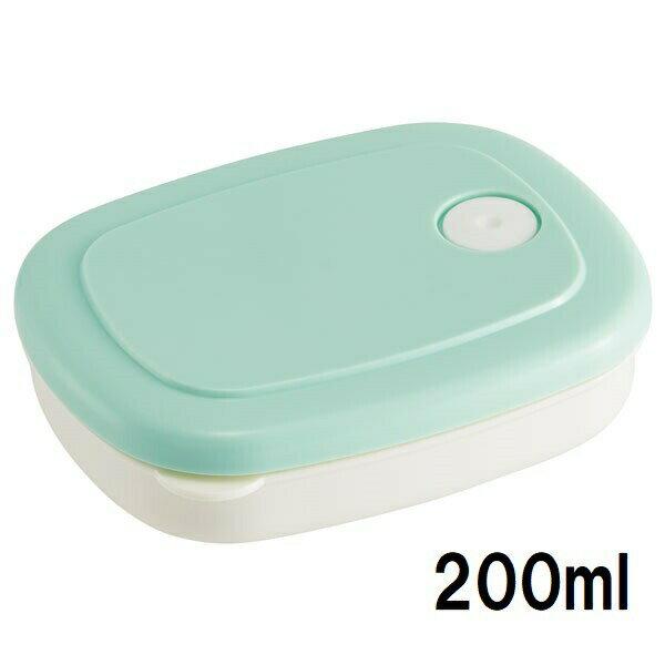 ご飯冷凍作りおき容器 200ml  パウダーパステルグリーン //白米ごはん食品食材保存容器ケース小分けおかず作り置き弁当食洗機