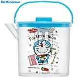 ティーバッグ用茶こし付 冷茶ポット[1.2L]●I'm Doraemon ひみつ道具●//冷水筒 ウォーターポット ピッチャー 常備保存用ポット 水分補給 持ち手付き 洗いやすい 熱湯OK I'm Doraemon アイムドラえもん ドラえもん//
