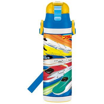 【送料無料】人気キャラクターロック付き水筒ステンレスボトル580ml超軽量直飲みコンパクトおしゃれギフトラッピング直飲み保冷子供用ショルダー子どもツムツムディズニーカーズトイストーリーアナ雪ディズニープリンセス