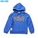 ナインルーラーズ NINE RULAZ LINE Sneaker Box Logo Kids Hoodie キッズ パーカー スウェット 子供服 ブルー