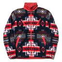 送料無料 NINE RULAZ LINE ナインルーラーズ Native Fleece Jacket フリースジャケット NRAW16-034 レッド