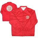 7UNION 7ユニオン 7USB Circle Coach Jacket コーチジャケット メンズ アウター 7IAXY-307C レッド