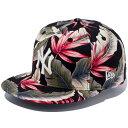 ニューエラ NEW ERA 9FIFTY Botanical ボタニカル ニューヨーク・ヤンキース スナップバックキャップ 帽子 CAP 11404587 ブラックボタニカル×スノーホワイト