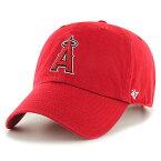 47Brand 47ブランド ロサンゼルス・エンゼルス・オブ・アナハイム ボールキャップ 帽子 ユニセックス Los Angeles Angels Home '47 Clean Up Cap レッド