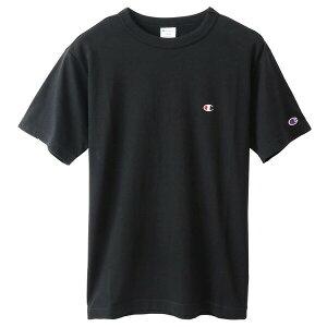 チャンピオン Tシャツ メンズ CHAMPION ベーシック チャンピオン 胸Cロゴ ワンポイント おしゃれ ブランド プレゼント ブラック S-XL C3-P300