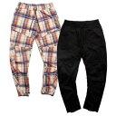 ナインルーラーズ パンツ メンズ レディース 送料無料 NINE RULAZ LINE Nylon Tech Pants テックパンツ ナイロン セットアップ ストリート レゲエ ブランド M-XXL 全2色 NRAW19-004