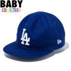 ニューエラ ベビー キャップ 帽子 NEW ERA My 1st 9FIFTY ロサンゼルス・ドジャース 赤ちゃん ベビーサイズ 男の子 女の子 誕生日 出産祝い プレゼント ダークロイヤル/ホワイト ワンサイズ 12018911