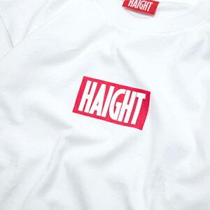 ヘイトロゴTシャツホワイト