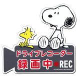 SNOOPY スヌーピー ドライブレコーダー 録画中 REC マグネット SN61