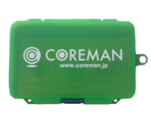 コアマン コンパクトフォームケース #003 グリーン