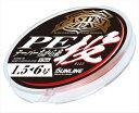【エントリーでポイントup 10月14日09:59まで】 サンライン キャステスト PE投テーパー力糸 13M 1.5−6号