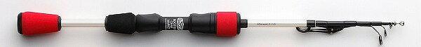ジャッカルRGM(ルースターギアマーケット)SPEC(スペック).25.5レッド/ホワイト振り出し式ロッド