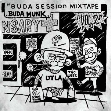 【¥↓】 BudaMunk / Buda Session MIXTAPE Vol.2
