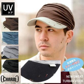 썬 바이 저 『 charm 』 ニュースエットターバンバイザー 여성용 썬 바이 저 골프 바이 저 남성 트 바 있는 모자 UV fs3gm