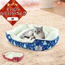 \売り尽くし!!/猫 ベッド ペットベッド 犬 ベッド 冬 ソファー かわいい おしゃれ ミニオンスクエアベッドM ノルディック ブルー 青 レッド 赤