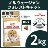 ロイヤルカナン猫FBNノルウェージャンフォレストキャット成猫用2kg正規品キャットフードプレミアムフードドライアダルト成猫用royalcanin【D】