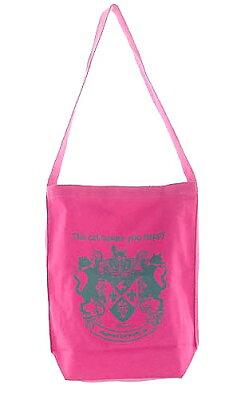 猫エンブレムがかっこ可愛いバッグ♪ キャットリエ限定販売 再入荷しました!猫夢プリント ワ...