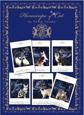 可愛い猫の12星座♪ (=∵=)猫好きのお友達へのプレゼントにも!!猫夢・猫の星座シリーズカード...