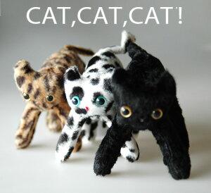 CAT.CAT.CAT!マスコットモントレ【猫のぬいぐるみ】【猫雑貨】
