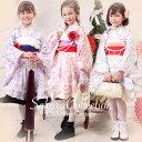京友禅着物ドレス 2本兵児帯とセット 裾のベロアが取り外しできます。 七五三 お雛様 お正月にも