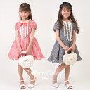 【限定タイムセールVol.21 2010年6月22日AM11:00まで】子供ドレス ギンガムチェック ワンピース