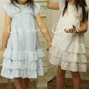 子供ドレス コットン&ガーゼのアイレットレースワンピース 映画衣装に採用  100cm/110cm/130...
