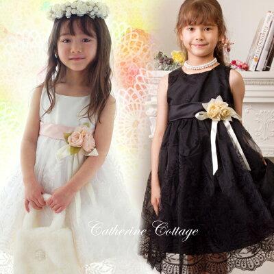 裾に入った刺繍がとってもキレイです♪リボンの色もお花も優しい桜色でホントに親子で大満足の...