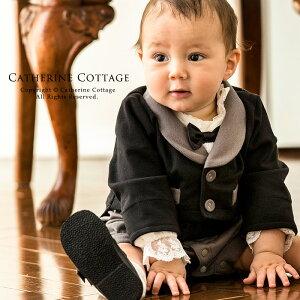 フォーマル ロンパース 赤ちゃん ベビーフォーマル ブラック ハロウィン コスプレ お出かけ おしゃれ