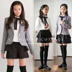 ペプラムつきのスタイリッシュなパンツスーツ卒業式 スーツ 女の子スーツ ガールズぺプラムパン...
