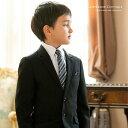 入学式 スーツ 男の子 フォーマルスリムスーツ5点セット【ジャケット/...