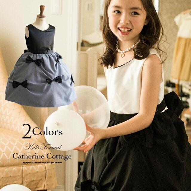 1f3638d26f2545 子供ドレス 飾りリボンスカート ワンピース子どもドレス 子供服 キッズ フォーマル 結婚式 発表会