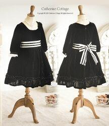 ベロアワンピース子供ドレス