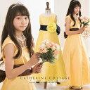 「美女と野獣のベルのドレスみたい」発表会にオススメ♪子供ドレス フレアロングドレス [ キッ...