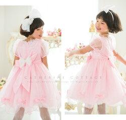 キッズジュニアトドラードレス発表会衣装ピンク