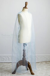 子どもドレス雪の女王風トゥインクルアイスキッズドレス&ジレ風トレーン100110120130140cmブルー発表会結婚式ハロウィンエルサ風プリンセス