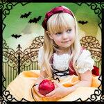 ハロウィン白雪姫ドレス