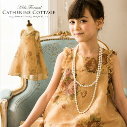 子供ドレス花柄