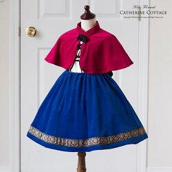 アナ雪風ドレス
