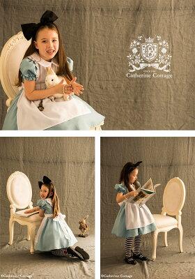 47ca63681afe1 ... ハロウィン 衣装 子供 アリス エプロンドレス 子供用 コスプレ 衣装 アリス コスチュームセット ワンピース